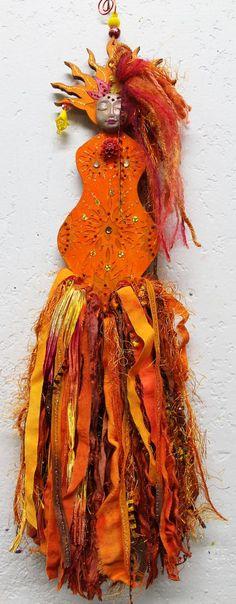 Sunshine Goddess Art Doll...