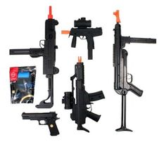 5 Airsoft Gun Bundle UZI AEG, R36-CQB, M1911, KSR, & MP40 COMBO w/ 5,000 GoldenBall ProSlick 0.12g BBs by AirSoft. $96.95. Airsoft Megastore's Signature Packages, created FOR PLAYERS BY PLAYERS, combine high-quality Airsoft guns with the necessary essentials that EVERY Airsoft player needs to get started playing the sport of Airsoft, and in the process deliver the best value on the market for Airsoft products. Check out our complete line of Signature Packages th...