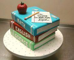Pastel para maestra | Decoración de pasteles según la profesión