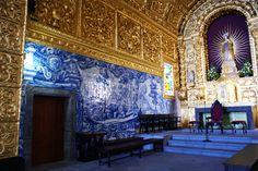 Igreja de Santa Maria Madalena, altar-mor - A Igreja de Santa Maria Madalena localiza-se na freguesia da Madalena, vila e concelho de mesmo nome, na Ilha do Pico, nos Açores.