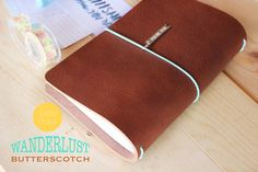 Wanderlust leather in Butterscotch Design Your Own by FoxyDori