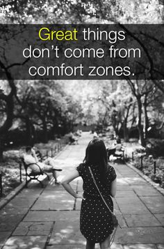 Great things don't come from comfort zones. Once we leave our comfort zone, the world is open for us to change. #volunteering #community