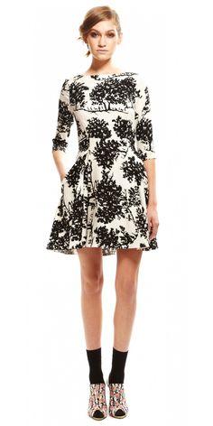 3/4 sleeve dress - SUNO