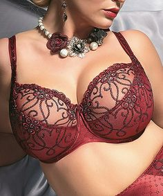 Another great find on #zulily! Bordeaux Eva Bra - Women & Plus by Kris Line #zulilyfinds
