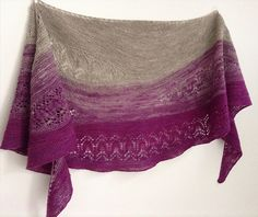 Waiting for Rain has a sister-shawl! The Rain Outside has just been released!