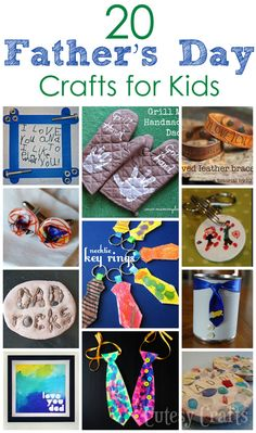 20 Father's Day Crafts for the Kids to Make