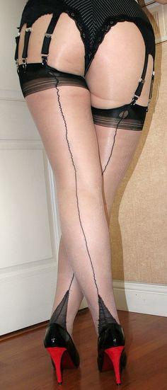 Women in nylons