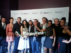 Cast of #Scandal at the #PaleyFest.