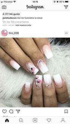 Spring Nails, Summer Nails, Flower Nails, Acrylic Nail Art, Toe Nails, Nails Inspiration, Pretty Nails, Hair And Nails, Nail Art Designs