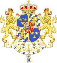 Armoiries du Roi Gustave IV Adolphe de Suède et Finlande
