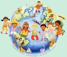 Projet : les 5 continents Teaching Kids, Kids Learning, Material Didático, Save Our Earth, Les Continents, World Crafts, Cultural Diversity, Animals Of The World, Pre School