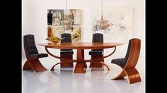 Elegant Dining Room Tables and Chair Design Ideas Wooden Dining Tables, Modern Dining Table, Dining Table Chairs, Kitchen Tables, Dining Sets, Kitchen Dining, Elegant Dining Room, Dining Room Design, Latest Dining Table Designs