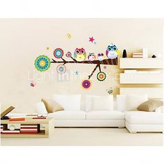 English Word Family living room sofa wall decals home decoration ...