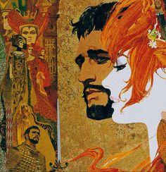 """Bob Peak- """"Camelot"""" (1967) 924×958 пикс"""