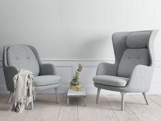 Fritz Hansen Fri Easy Chair by Jamie Hayon - Chaplins