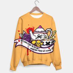 Let's have Halloweeen - Orange Version Sweater @liveheroes