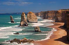 The 12 Apostles, Australia    Google Image Result for http://ih3.redbubble.net/image.7529587.8417/flat,550x550,075,f.jpg
