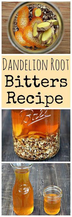 Dandelion Root Bitters Recipe