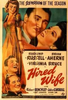 Hired Wife (1940) // William A. Seiter