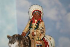 "Native American Sioux Chief on Horse by Schleich ""The Wild West Series"" #Schleich"
