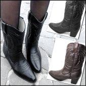 Western Rain Boots  Rain boots that don't look like rain boots! Stay cute in the rain