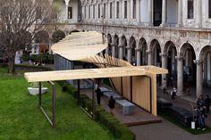 installazione SenSai - project: archizero - concept: Michele Cazzani - INTERNI - HYBRID Architecture & Design_Fuori Salone_Milano 2013 | franchiumbertomarmi: events