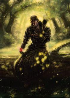 Forest son: Iorveth by BlackAssassiN999.deviantart.com on @deviantART