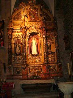Publicamos la iglesia de Santa Eulalia, Luarca, Asturias.  #historia #turismo http://www.rutasconhistoria.es/loc/iglesia.de.santa-eulalia-de-luarca