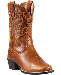Ariat Youth Legend Cowboy Boots - Square Toe