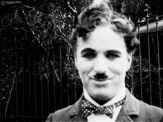 Surely you're familiar with Charlie Chaplin. | Charlie Chaplin Was A Hunk