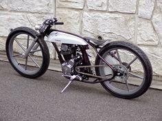 from Wedge. Bobber Motorcycle, Bobber Chopper, Motorcycle Design, Motorcycle Style, Bike Design, Vintage Bikes, Vintage Motorcycles, Custom Motorcycles, Custom Bikes