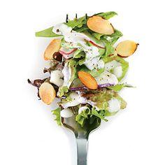 Radish Salad with Buttermilk-Herb Dressing | CookingLight.com #myplate, #veggies