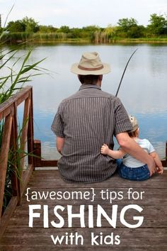Awesome tips for fishing with kids. #FishingforMemories