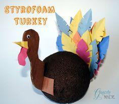 Gingerly Made: Kid Craft Turkey