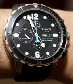 Tissot SeaStar 1000 Chronograph Valjoux Limited Edition Watch