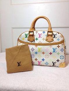 Louis Vuitton Trouville Multicolor Handbag Hobo Bag. Hobo bags are hot this  season! The c5295bc408379
