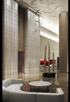 Beach Club II Lobby, Florida by Yabu Pushelberg: Hotel Lounge, Lobby Lounge, Lobby Interior, Interior Architecture, Interior Design, Lounge Design, Public Hotel, Yabu Pushelberg, Lobby Design