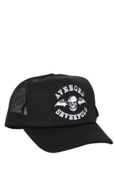 135b465fd74 Avenged Sevenfold Snapback Trucker Hat