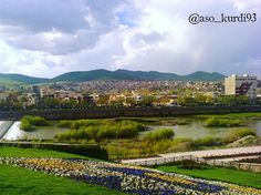 Beautiful Saqqez City in the Province Kurdistan, Iran.