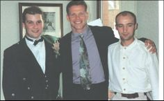 Me and My Brother Tommy at my Wedding  Celtic Park Glasgow Sept 1995