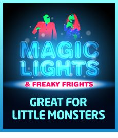 Magic Lights & Freaky Frights at Frightwater Valley 2013.