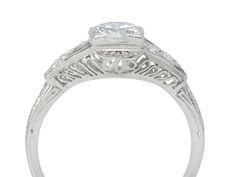 Beautiful Music - Diamond Platinum Ring - The Three Graces Depth details like an architecture.