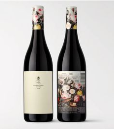 Wine label design: subtle and simple on one side, decorative and colorful on the other Australian Organic, Organic Wine, Wine Label Design, Wine Brands, Wine Bottle Labels, Sauvignon Blanc, Prosecco, Abundance, Wines