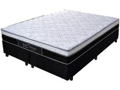 Cama Box King Size (Box + Colchão) Probel - Mola Pocket 54cm de Altura Perfil Springs Plus com as melhores condições você encontra no Magazine Jsantos. Confira!