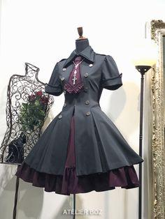 Lolita Fashion, Gothic Lolita, Corset, Cosplay, Fashion Design, Inspiration, Outfits, Clothes, Dresses