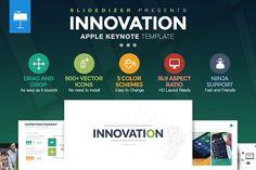 Innovation Keynote Template by Slidedizer on @creativemarket