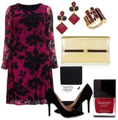 Fall Winter Plus Size Wedding Guest Outfit Ideas 02