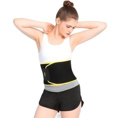 Walfront Premium Waist Trimmer Belt Slim Body Sweat Wrap for Stomach and Back Lumbar Support, Low Back and Lumbar Support with Sauna Suit Effect, Best Abdominal Trainer for Women Back Fat Workout, Tummy Workout, Abdominal Workout, Tummy Exercises, Abdominal Fat, Waist Workout, Waist Training Belt, Weight Loss Water, Tummy Tucks