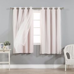curtains for bedroom 63 inches long window sheer room darkening 4 panels nursery - 63 Inch Curtains