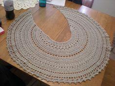 Beautiful Crochet Scarf! Free pattern on Ravelry: Isis pattern by Anastasia Roberts